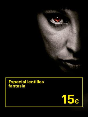 Promoció Especial Halloween, Lents contacte Fantasia per 15€