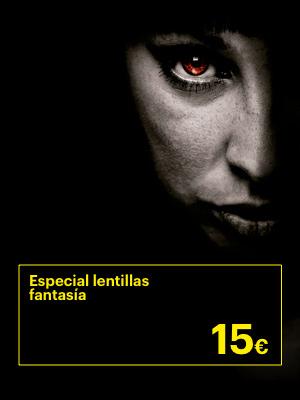 Promoción Especial Halloween, Lentillas de colores por 15€