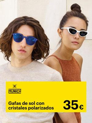 Empieza el verano con Munich, Gafas de Sol Polarizadas por 35€