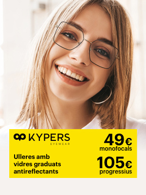 Aquesta temporada es porten Kypers, Nova colecció d'ulleres graduades