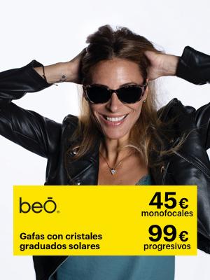 En otoño, protege tus ojos del sol, Cristales solares incluidos por 45€