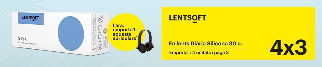 4x3 Lentsoft diària silicona