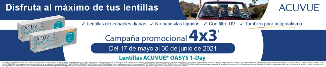 4x3 Acuvue Oasys 1 Day
