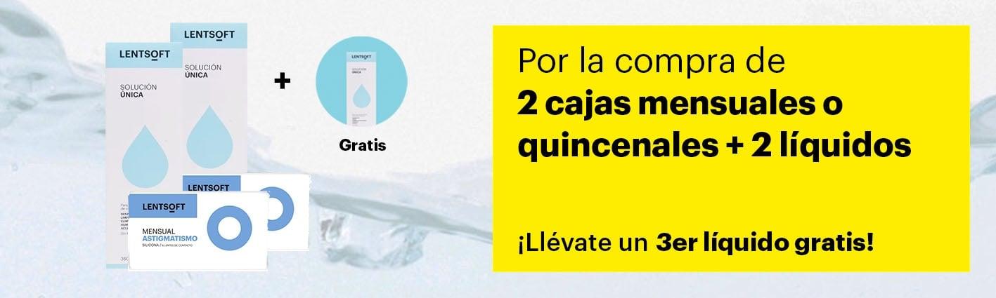 Pack Lentillas + Líquidos: Mensuales