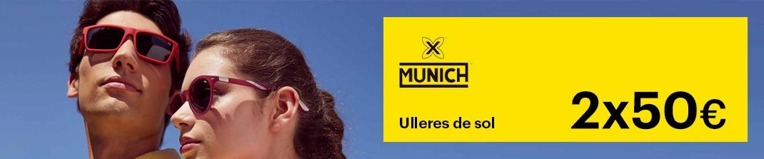 Ulleres de sol Munich 2x50€