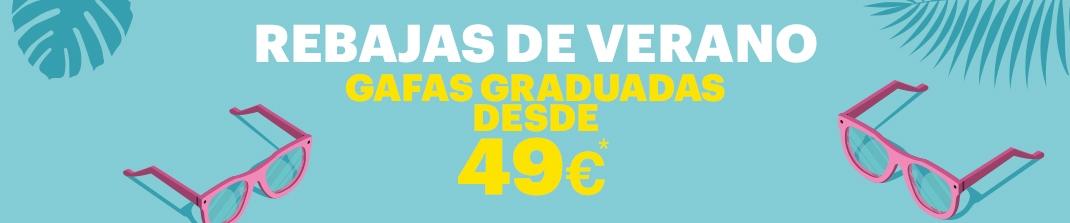 Gafas Exit graduadas + cristales 49 €