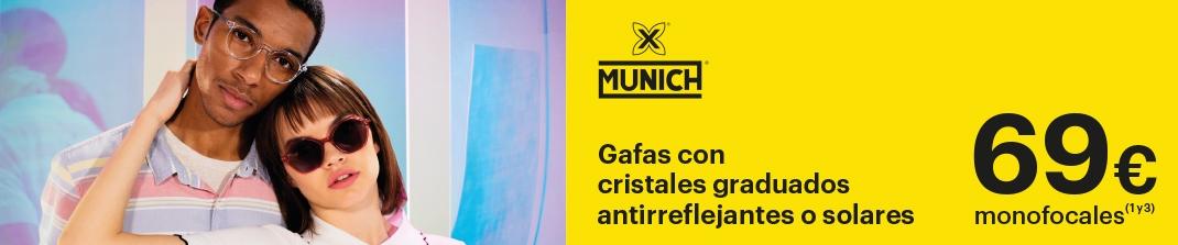 Montura Munich + Cristales