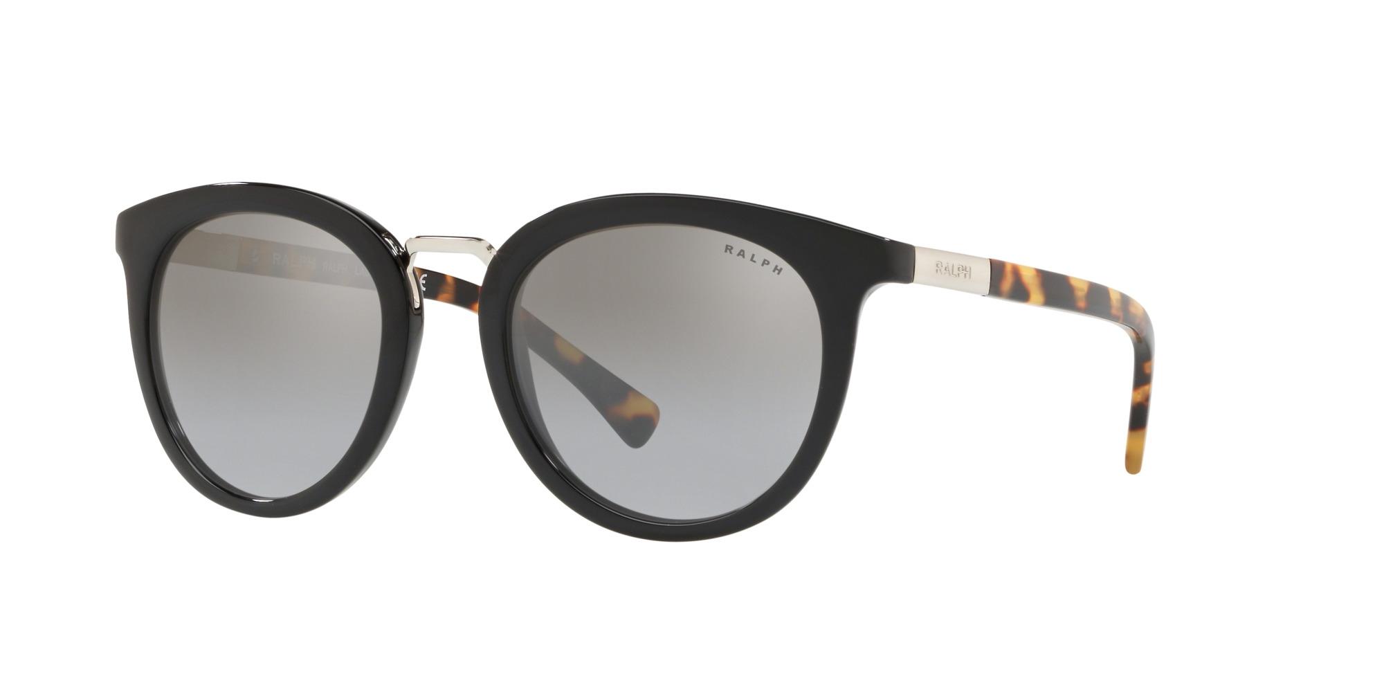 Occhiali da Sole Ralph Lauren RA5207 nero argento specchiato gradient 50016V