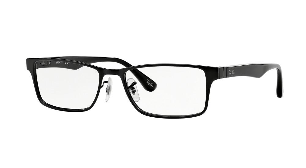 3b69ee8e3b Ray-Ban RX 6238 2509 53 Negras Rectangulares - Gafas Ray-Ban