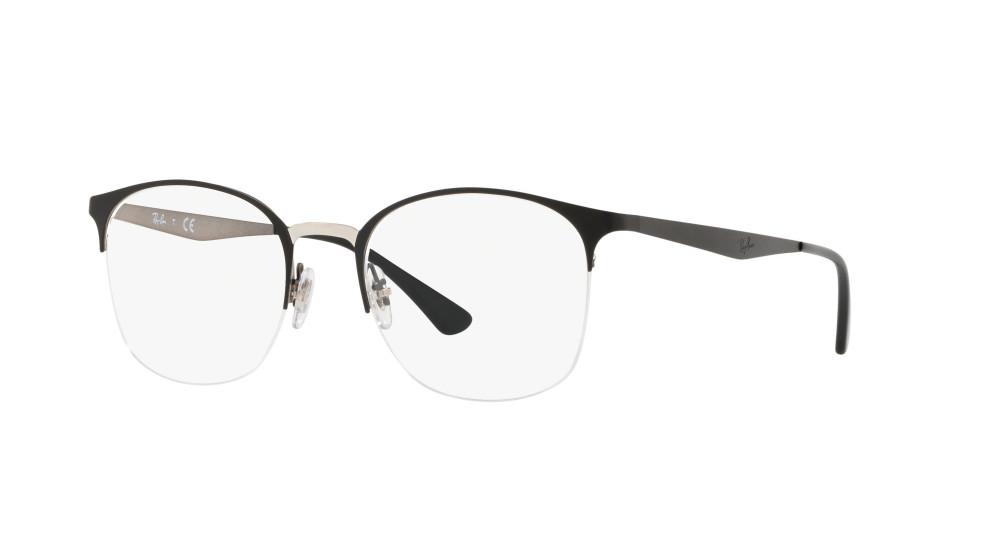 c11213e88c Ray-Ban RX 6422 2997 Silver ON TOP M 49 - Gafas Ray-Ban