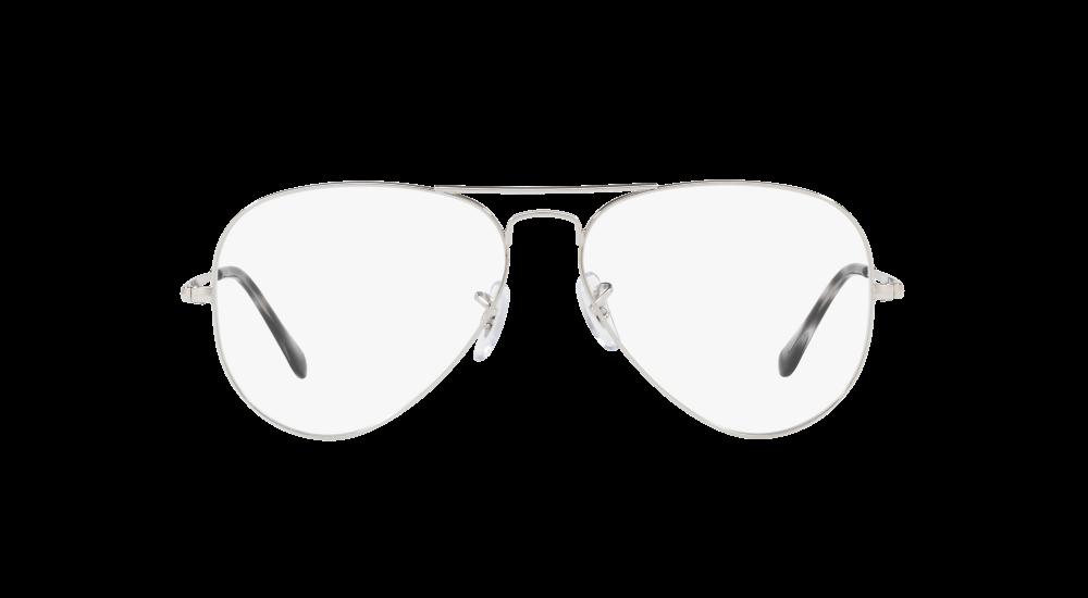 2b458b9673 Ray-Ban RX 6489 2501 55 Plateadas Aviador - Gafas Ray-Ban
