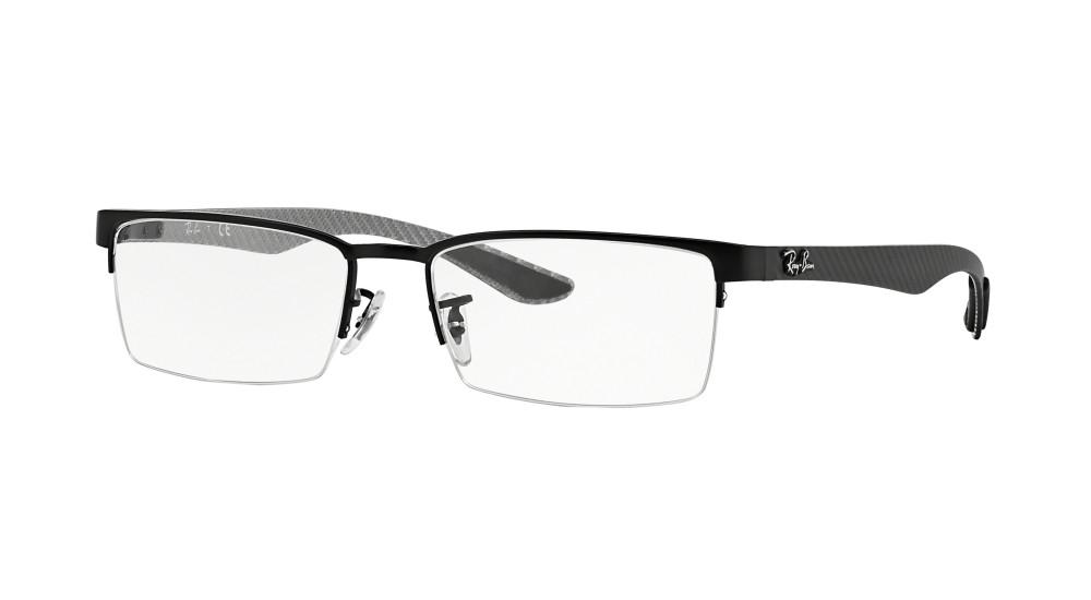 f0e833e829 Ray-Ban RX 8412 2503 54 Negras Rectangulares - Gafas Ray-Ban