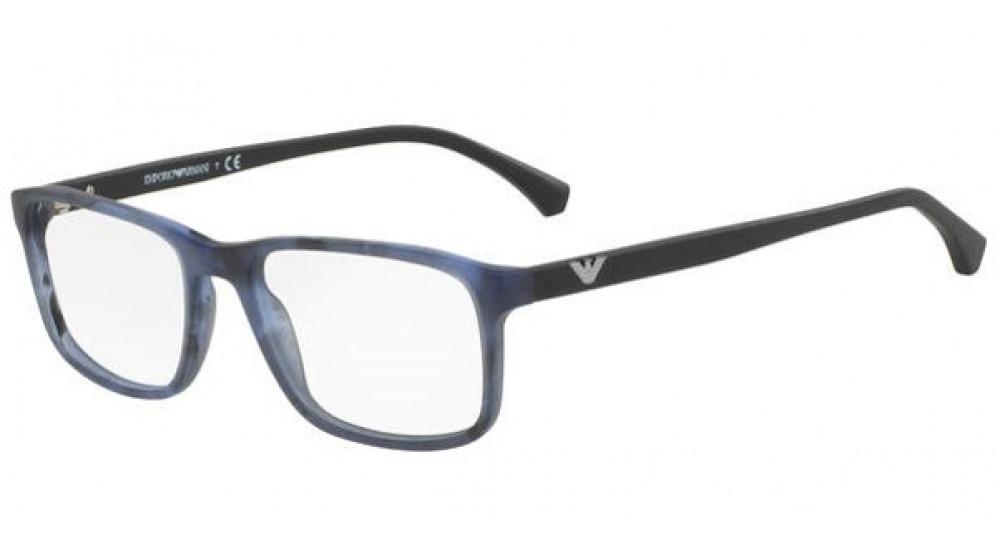 87a2e93b8d Emporio 3098/G 53 Azules y Negras Cuadradas - Gafas Emporio Armani