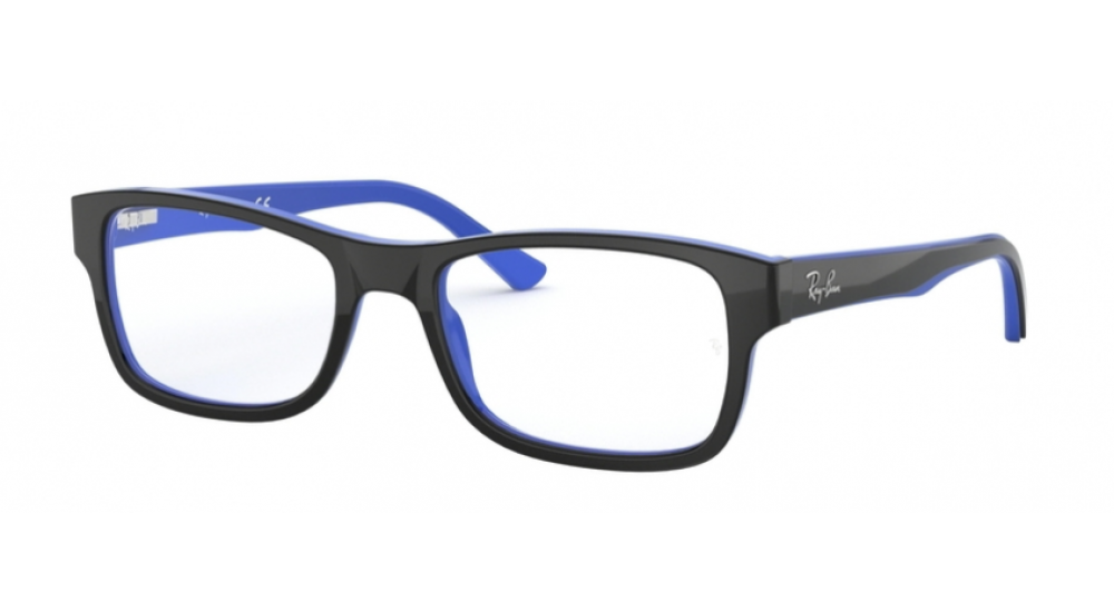 dbd6761156 Ray-Ban RX 5268 50 Azules y Negras Rectangulares online - Gafas Ray ...