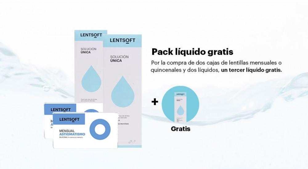 Lentillas de uso mensual LENTSOFT MENSUAL SILICONA+ TORICA