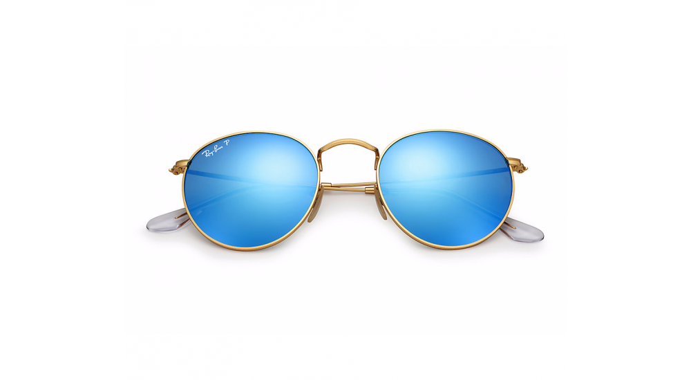 Gafas de sol Ray-Ban ROUND METAL RB3447 112/4L Flash Polarizadas