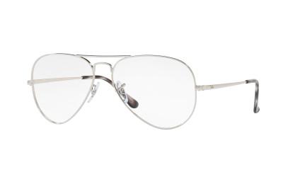 Gafas graduadas Ray-Ban RX 6489 2501 PLATA