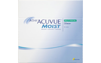 Caja de 90 unidades 1-DAY ACUVUE MOIST MULTIFOCAL