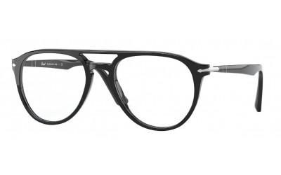 PERSOL-3160/G 95 BLACK 52*18 (Gafas Graduadas)