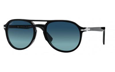 PERSOL-3235/S 95/S3 BLACK(POLAR BLUE GRADIENT 55*20 (Gafas Sol)