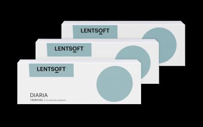 LENTSOFT DIARIA HIDROGEL 90 UN (3x30 UN)