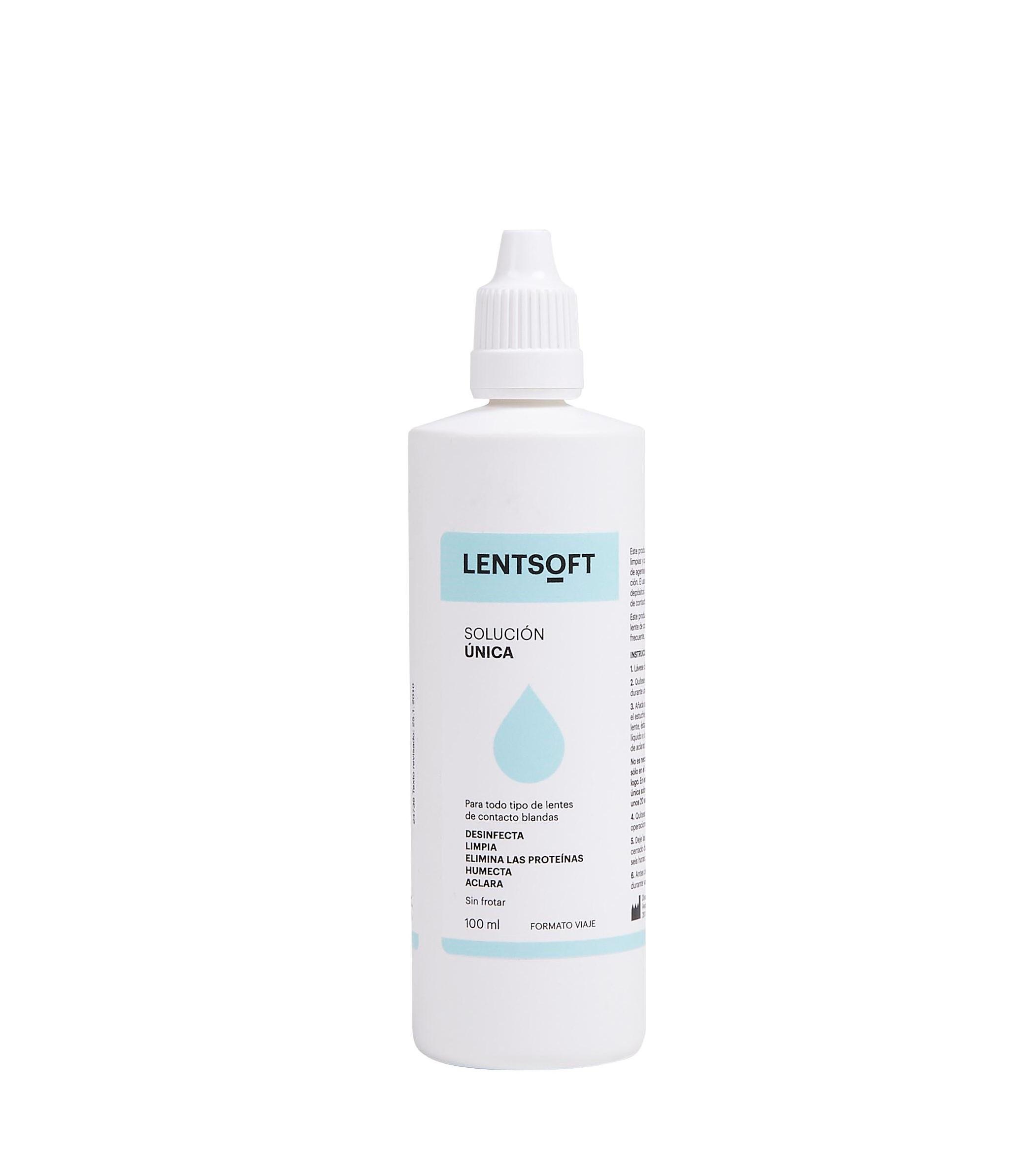 LENTSOFT 100 ML (VIAJE) nuevo packagging
