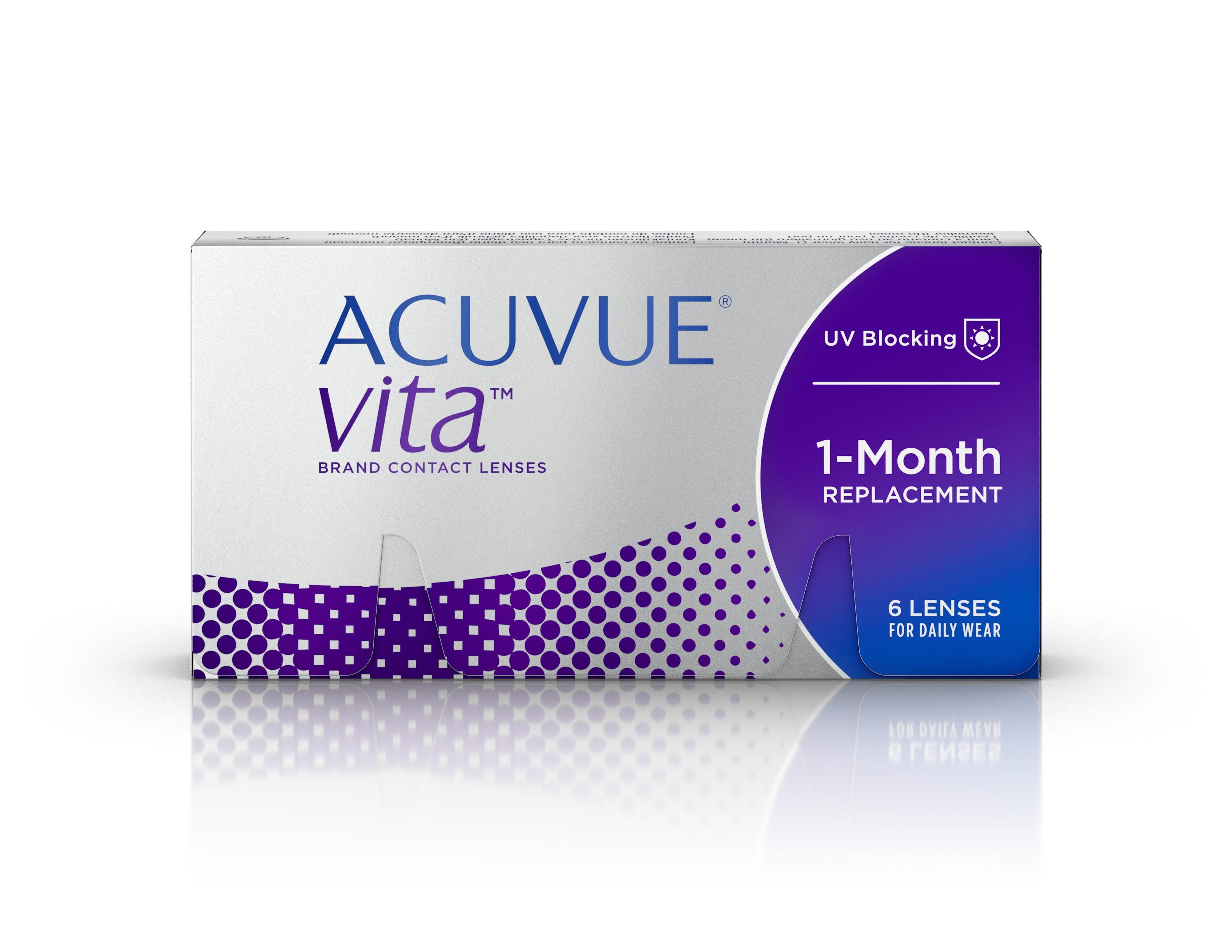 ACUVUE VITA 6 UDS mensual caja