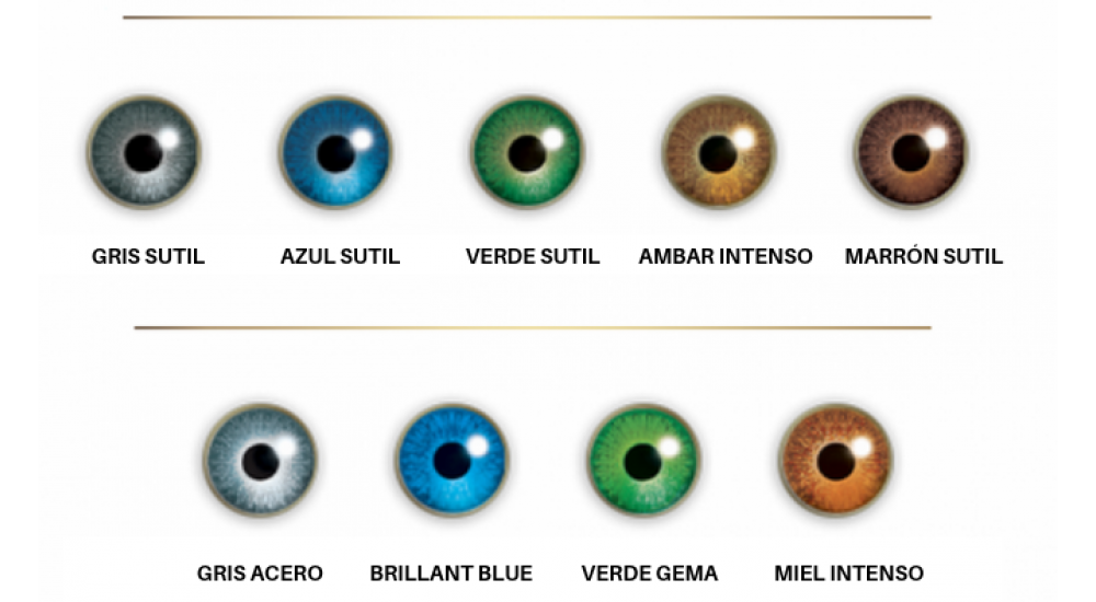 AIR OPTIX COLORS AMBAR INTENSO (PURE HAZEL) MENSUAL