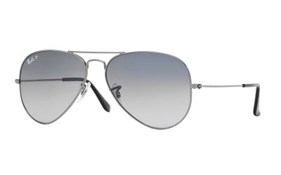Gafas de sol polarizadas y degradadas RAY-BAN AVIATOR RB3025 004/78