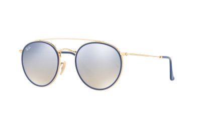 Gafas de sol RAY-BAN ROUND DOUBLE BRIDGE RB 3647N 001/9U