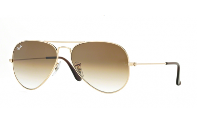 Gafas de sol degradadas RAY-BAN AVIATOR RB3025 001/51 58mm