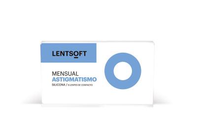 LENTSOFT MENSUAL SILICONA ASTIGMATISMO 6 UN