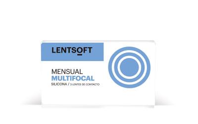 lentillas mensuales LENTSOFT MENSUAL SILICONA MULTIFOCAL 30 UN