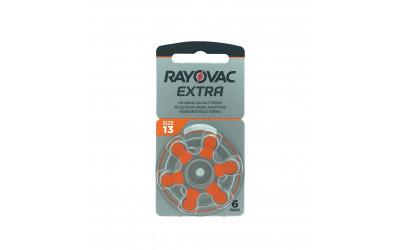 PILAS AUDIFONOS RAYOVAC 13 NARANJA ULTRA ZINC-AIR (Accesorios)