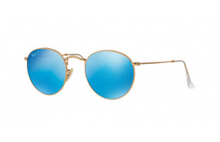 RAY-BAN ROUND METAL RB 3447 112/4L POLARIZADAS