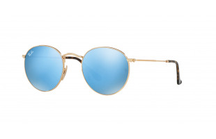 RAY-BAN ROUND METAL RB 3447N 001/9O