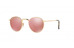 RAY-BAN ROUND METAL RB 3447N 001/Z2