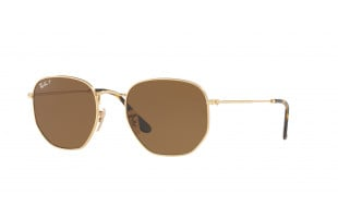 RAY-BAN HEXAGONAL RB 3548N 001/57 POLARIZADAS