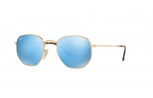 RAY-BAN HEXAGONAL RB 3548N 001/9O 51mm.