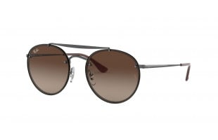 RAY-BAN BLAZE ROUND DOUBLE BRIDGE RB 3614N 914413