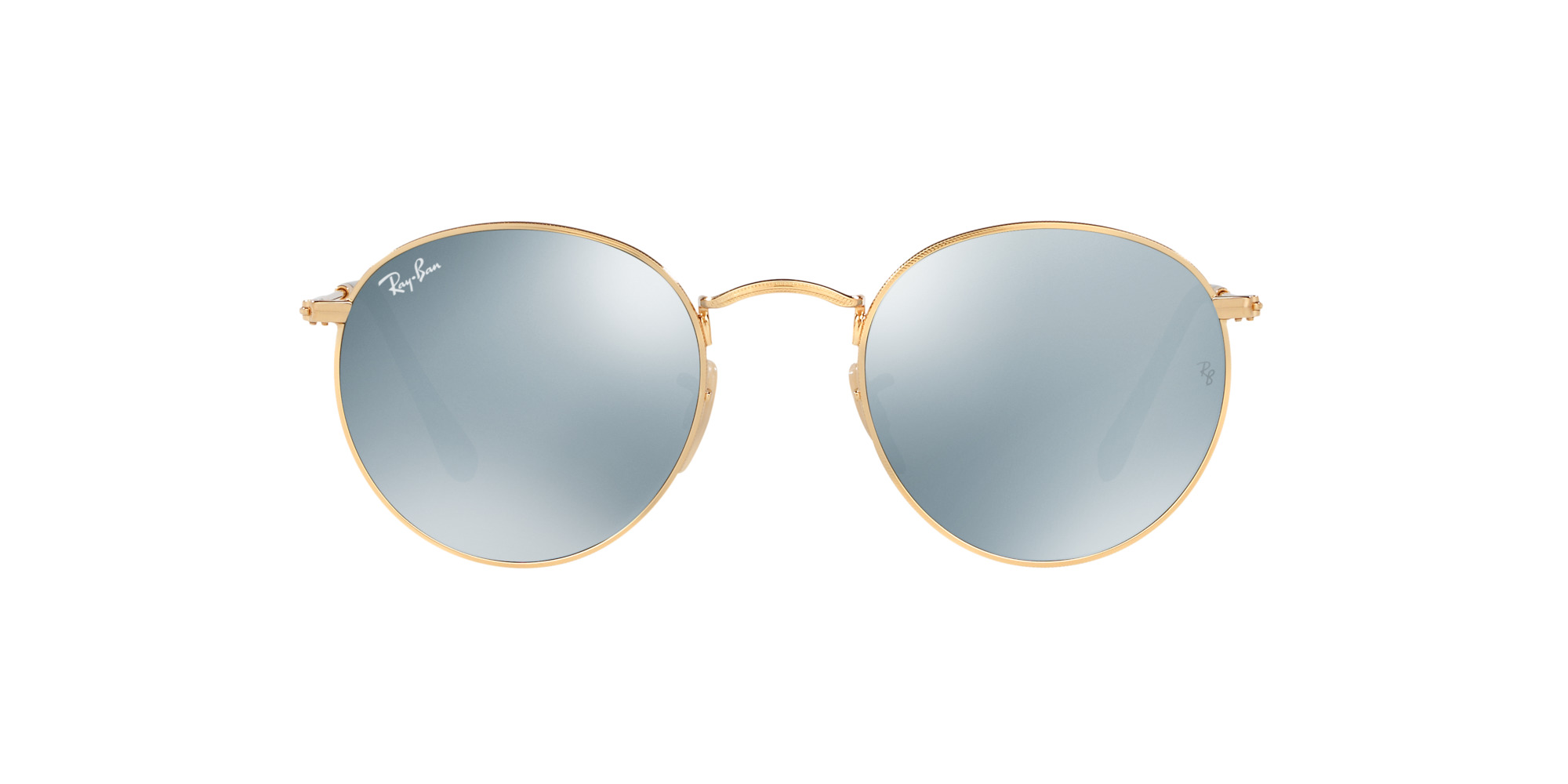 RAY-BAN ROUND METAL RB 3447N 001/30-360