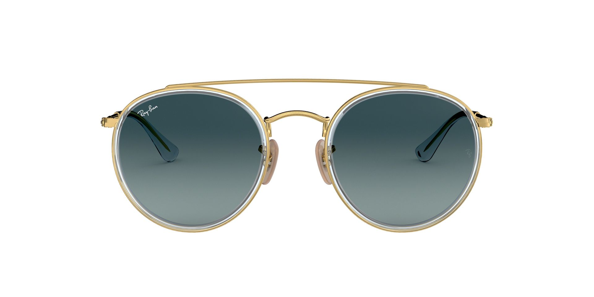 RAY-BAN ROUND DOUBLE BRIDGE RB 3647N 91233M-360