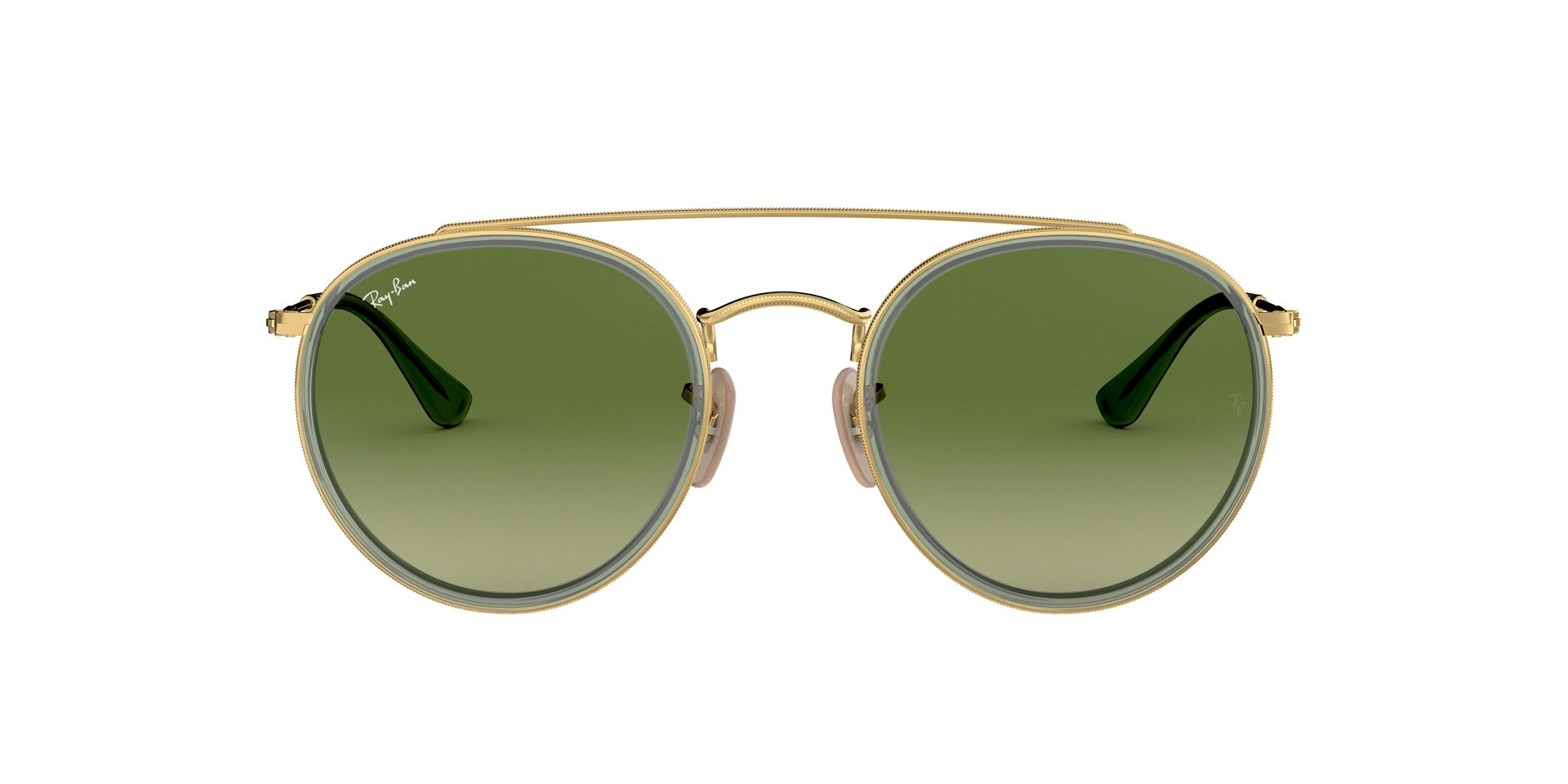 RAY-BAN ROUND DOUBLE BRIDGE RB 3647N 91224M-360