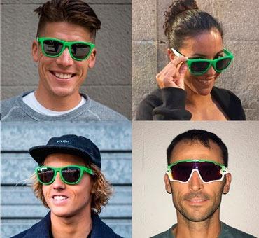 83f6a575a Desde sus inicios, las gafas de la firma han ido estrechamente ligadas al  deporte, por lo que cuentan con un diseño llamativo y colorido.