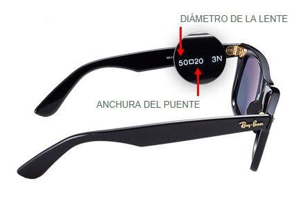 Elegir talla de gafas