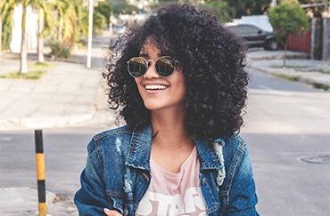 gafas de sol redondas para chica