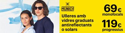 Promocio montura mes vidres Munich