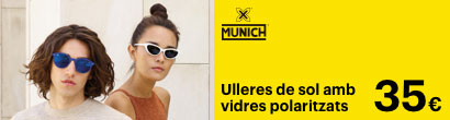 Promocio ulleres de sol Munich